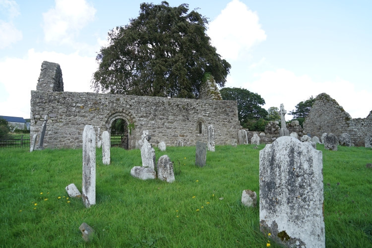 Old Kilcash church