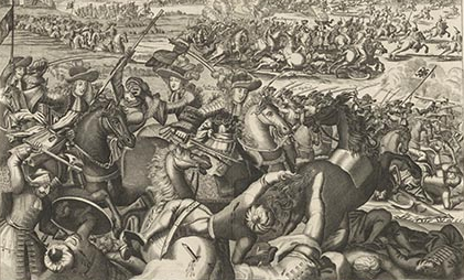 The Battle of Aughrim (Rijksmuseum, Amsterdam)