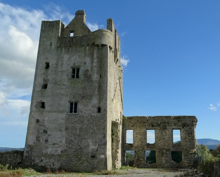 Kilcash Castle from the north